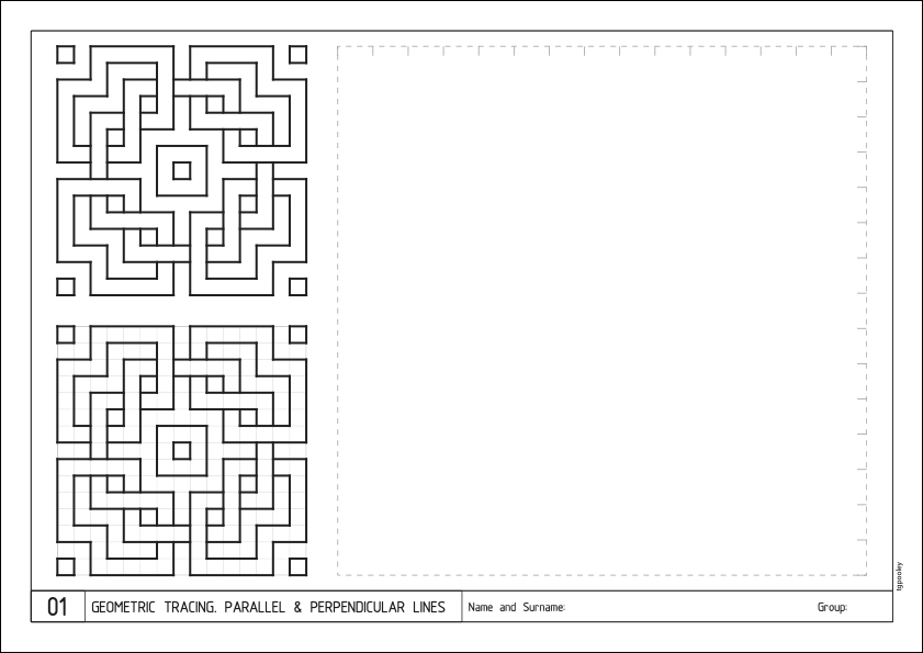 Technical Drawing Example worksheet