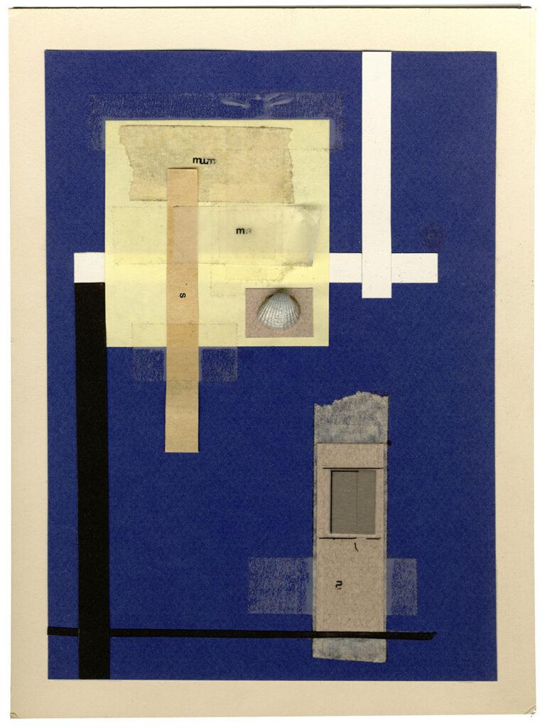 Imagen del collage titulado Composición con concha